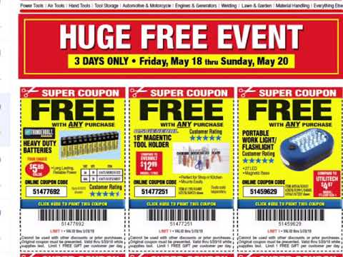 Harbor Freight email coupons