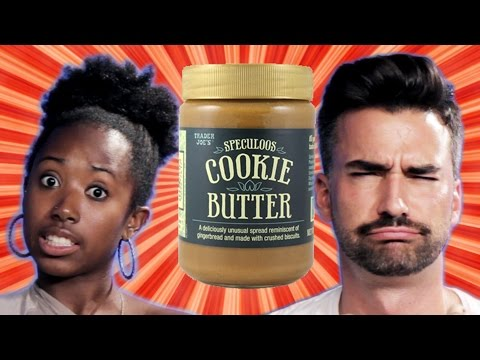 People Try Trader Joe's Cookie Butter For The First Time