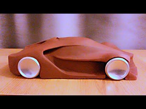 Making A Clay Car Model  2
