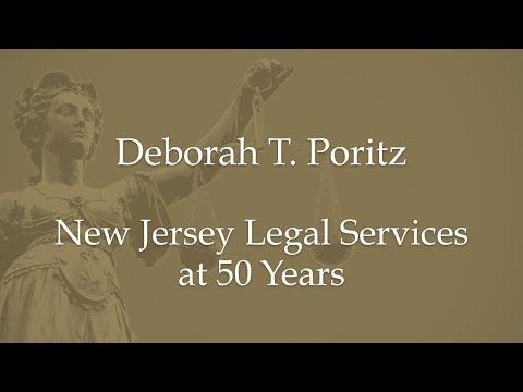 Deborah T. Poritz-New Jersey Legal Services at 50 Years
