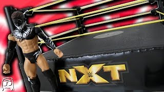 WWE NXT Finn Balor Target Exclusive Ring Toy Playset Unboxing, Construction & Review!!
