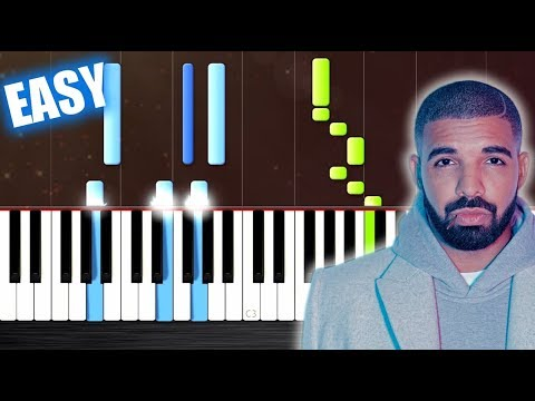 Drake - God's Plan - EASY Piano Tutorial by PlutaX