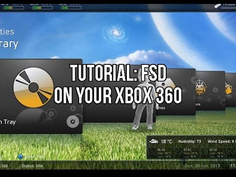 Tutorial How To Put FSD Freestyle Dash On Your Xbox 360 Jtag Or RGH F3 Rev735 Works For All Versions