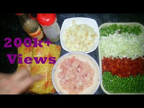 How to Spicy Chicken Vegetable Macroni | Chicken And Vegetable Macaroni Recipe By Cook With Nuzhat