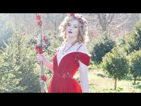 Making a Draped Velvet Dress, Part One