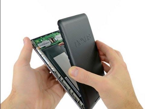 Nexus 7 Loose Battery