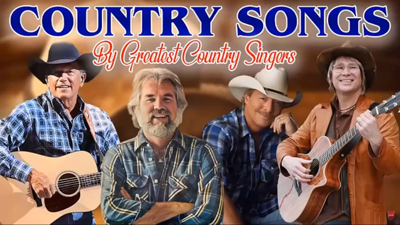 Kenny Rogers, John Denver, Alan Jackson ,George Strait Greatest Hits - Top 100 Classic Country Songs