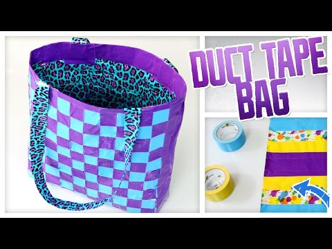 DIY Duct Tape Tote Bag! - Do It, Gurl