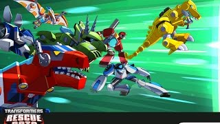 TRANSFORMERS RESCUE BOTS DISASTER DASH HERO RUN All Transformer Bots Unlocked Gameplay