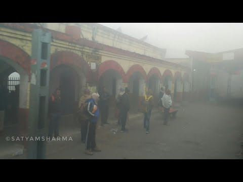 Train Operating in 0 Visibility Fog | A Compilation | Purvanchal Express