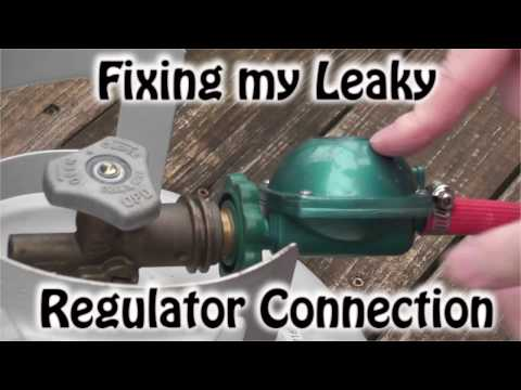 Fixing my leaky propane regulator