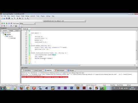 c++ Kezdőknek #36 - Input String Stream