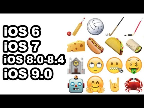 How to get new Emojis on iOS 6/7/8
