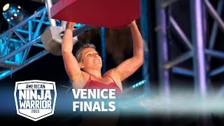 Jessie Graff at 2015 Venice Finals | American Ninja Warrior