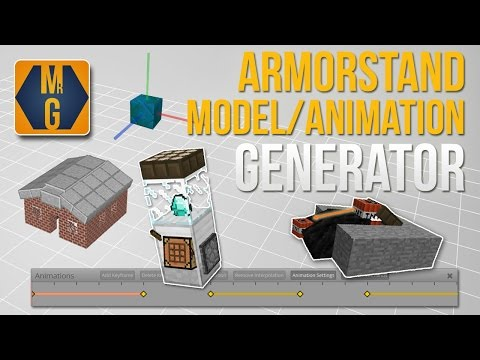 Minecraft - Armor Stand Model and Animation Generator