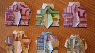 Geldscheine falten / Geld falten / Origami DIY - PakVim net