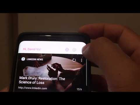 Samsung Galaxy S9: How to Set Bixby Feedback Style to Short or Full