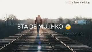 Kaise Jiyunga Kaise Bata De Mujhko Tere Bina 😔 New Whatsapp Status 🥀 Faisal 💞 Kurrshi