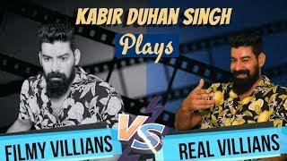 90's Filmy Villains V/s New Age REAL Villains Feat. South Actor Kabir Singh Duhan