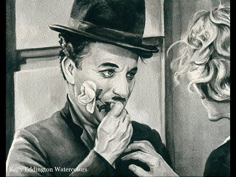 Charlie Chaplin Speed Painting