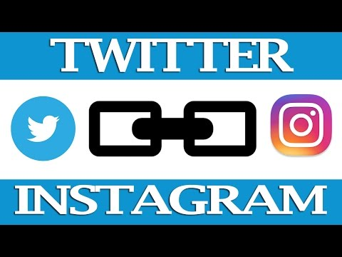 Como vincular o Twitter no Instagram