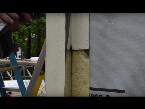 Adding Rigid Foam to the Outside of a House (2 of 2)