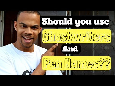 Outsourcing Ghostwriters and Pen names  - Kindle Publishing
