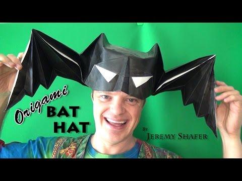 Origami Bat Hat