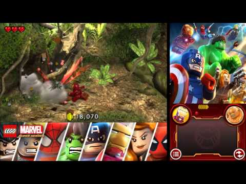 LEGO Marvel Super Heroes: Universe in Peril 100% Freeplay Guide - Chapter 12 - Island M.