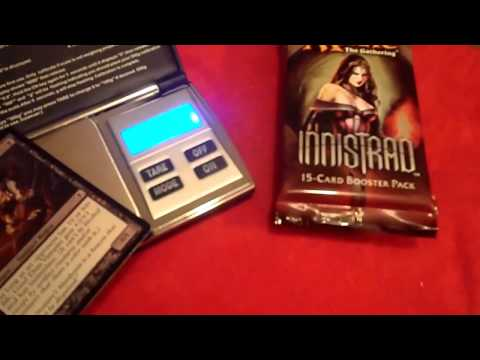 How To: Scale Magic the Gathering Packs to find Foils