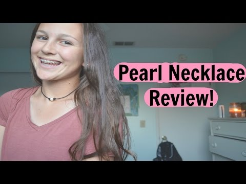 Pearl Necklace Review | liveluvstyle