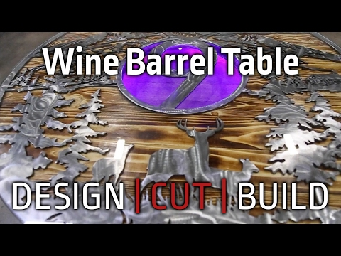 Design Cut Build | Episode 4 Wine Barrel Table Build