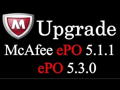 Mcafee ePO upgrade 5.1.1 to 5.3.0