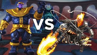 Ghost Rider VS Thanos - Epic Duels - Marvel Contest of Champions