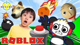 Combo Panda Playing Roblox Vtubers Roblox Extreme Ban Hammer Pillow Fight Ryan Vs Combo