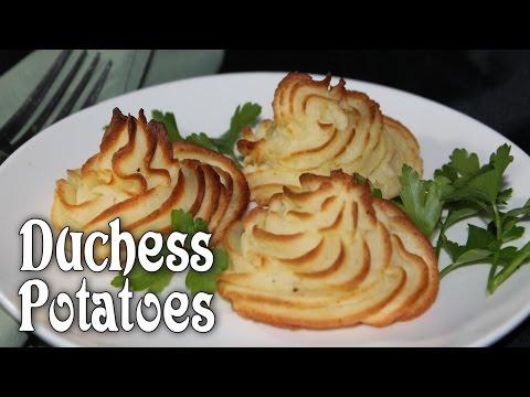 Easy Duchess Potatoes