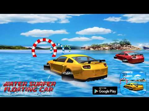 Drive Water Surfer Floating Car HD Android Game Play By Thunder Gamers