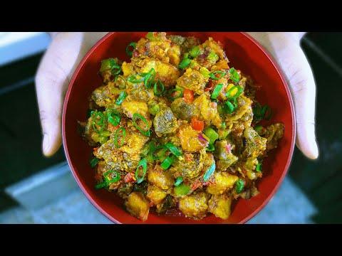 How to make Gizdodo ( plantain and gizzard recipe)