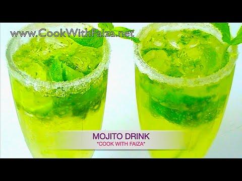MOJITO DRINK - موہیتو ڈرنک -  महहितह डरीनक  *COOK WITH FAIZA*
