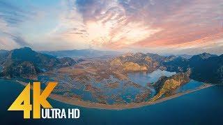 4K Aerial Footage - Bird's Eye View of Turkey - 10-Bit Color Aerial Cinematic Video