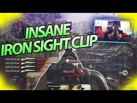 INSANE IRON SIGHT CLIP! | Live Highlights #43! | @cohhdz