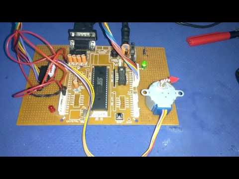 Stepper motor interfacing with 8051 uC