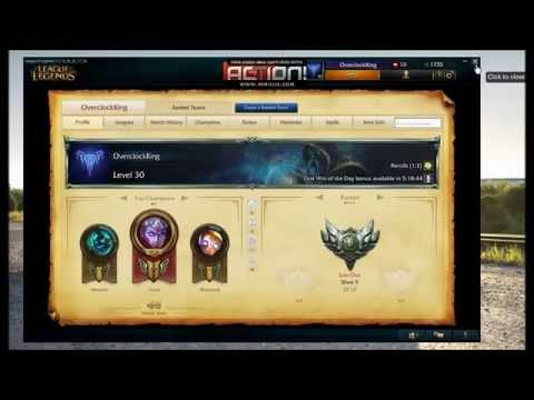 How to change Login screen in League of Legends