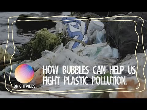 The Great Bubble Barrier invented a very smart solution to plastic pollution.