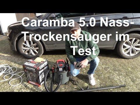 Caramba Auto 5.0 Nass und Trockensauer Test Autostaubsauger