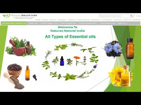 All types of Essential oils and Spice Oils suppliers