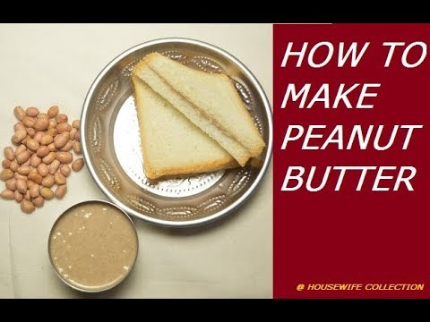 HOW TO MAKE PEANUT BUTTER (Apple dipping Sauce)
