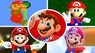 Evolution of Level Endings in Mario Games (1985-2017)