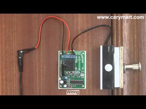 Wireless Remote Control Electromagnetic Lock