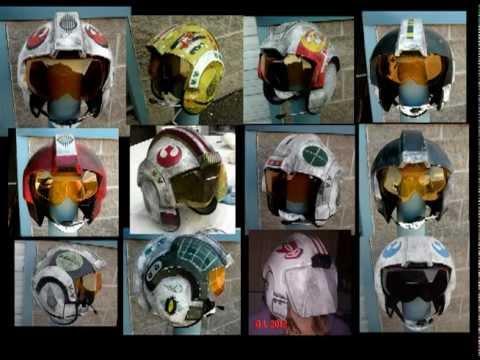 X wing Helmets Tutorial  BIGGS, WEDGE, ZEV, RED 9, RED 10